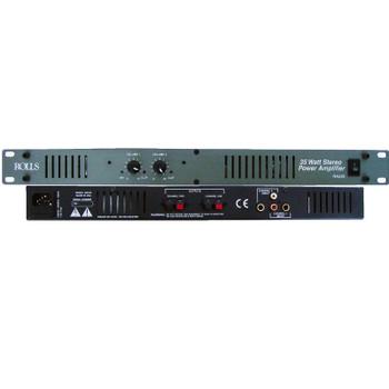 RA235 Stereo Power Amp 35 Watt/Ch 1U