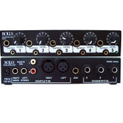RA53b 5 Ch Headphone Amp 1/2 Rack