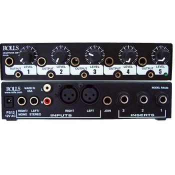 RA53b 5 Ch Headphone Amp 1/2 Rack