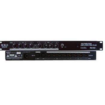 RA163 Xlr Distribution Amp 8 Ch Mono/4 Ch Stero