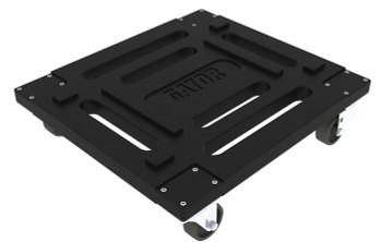 G-CASTERBOARD Rotationally Molded Set of Four Caster Kit - Black