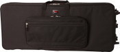 GK-76 Lightweight Keyboard Case with Wheels - for 76-Key Keyboards