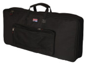 GKB-61 SLIM Keyboard Gig Bag for 61-Note Slim Keyboards - Black