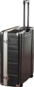 G-MIX-12PU 12 Space ATA Pop-Up Mixer Case w/Roller Blade Wheels & Pull-Out Handle