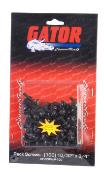 Gator Cases GRW-SCRW025 Rackworks 10/32-inch x 3/4-inch Rack Screw (25 Pack)