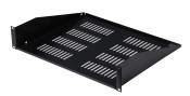 Gator Cases GRW-SHELFVNT2 Rackworks 2U 15-inch Deep Utility Shelf w/Vent Holes