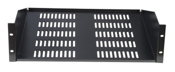 Gator Cases GRW-SHELFVNT3 Rackworks 3U 17-inch Deep Utility Shelf w/Vent Holes