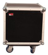 G-TOUR 10U CAST Tour Style ATA Flight Rack Case w/Casters