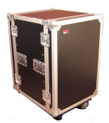 G-TOUR 12U CAST Cast Tour Style ATA Flight Rack Case w/Casters