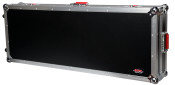 G-TOUR 61V2 61 Note Road Case w/Wheels - Black