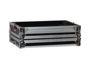G-TOUR DDJT1-S1 ARM1-PL Case for Pioneer DDJ Controller w/DJARM (Slate w/Black Hardware