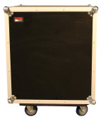 G-TOUR SHK12 CA 12 Space Tour Style ATA Shock Rack Case w/Casters
