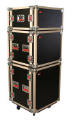 G-TOUR SHK8 CAS 8 Space Tour Style ATA Shock Rack Case w/Casters