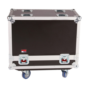 Gator Cases G-TOUR SPKR-212 Double Speaker Case for Two 12-inch Loudspeakers - Black
