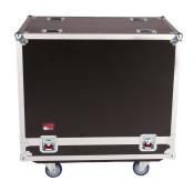 """G-TOUR SPKR-215 Double Speaker Case for Two 15"""" Loudspeakers - Black"""
