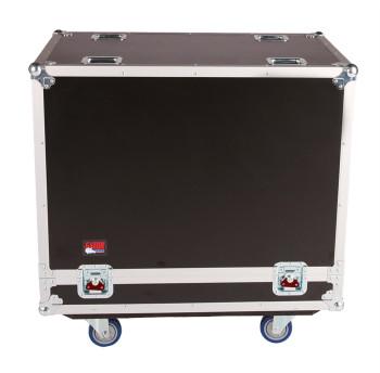 Gator Cases G-TOUR SPKR-215 Double Speaker Case for Two 15-inch Loudspeakers - Black