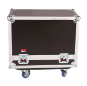 G-TOUR SPKR-2K12 Case for 2 QSC K12 Speakers - Black