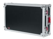G-TOURDSPNS7II Road Case Custom Fit for Numark NS7II Controller - Black