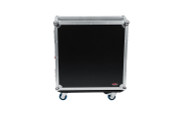 G-TOURQU24 ATA Wood Flight Case for Allen & Heath QU24 Mixing Console w/Doghouse Design