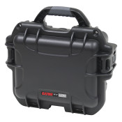 GU-0806-03-WPNF Waterproof Injection Molded Case for Audio Visual Recording Equipment - Black