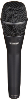 Shure KSM9HS Multi-Pattern Dual Diaphragm Handheld Vocal Microphone - Black