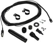 Shure MX202B/S - Super-Cardioid Hanging Condenser Microphone - Black