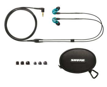 Shure SE215LTD-EFS Limited Edition SE215 Sound Isolating Earphones (Blue)