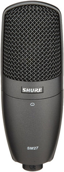 Shure SM27-SC Cardiod Side-Address Condenser Microphone