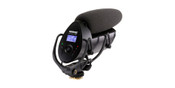 Shure VP83F Camera-Mount Shotgun Microphone w/Integrated Flash Recording