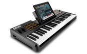 Akai synthstation49 ipad keyboard controller angle