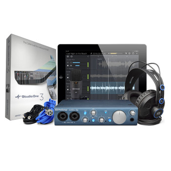 presonus audiobox iTwo studio bundle bundle