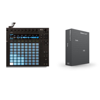 Ableton Push 2 + Suite 9 Bundle with DeckSaver