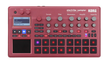 Korg Electribe2s Sampling Music Production Station- Red