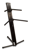 AX-48 Pro Apex Series Two-tier Portable Column Keyboard Stand (Black)