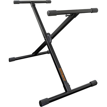 Roland Single X-Braced Keyboard Stand Black