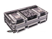 Odyssey FZ10CDiW Flight Zone Case for 10-inch Mixers and Medium Format CD Players