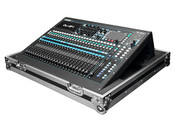 Odyssey FZQU24W Allen & Heath QU-24 Mixer Flight Case with Wheels