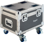 Stagg Music SLI FC-CYC60 Wooden flight case for 4x Cyclops 60 or other moving heads, on wheels