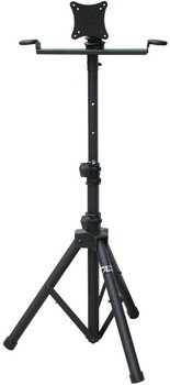 AST420Y Portable Flat Panel TV/Monitor Stand with Foldable Tripod Legs by Audio 2000S