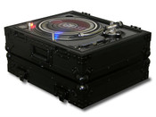 Odyssey FZ1200BL Black Label Series Universal Turntable Flight Case