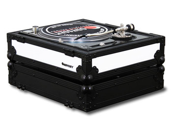 Odyssey FFX2RBM1200BL Universal Turntable Case with LED FX (Front & Right Side)