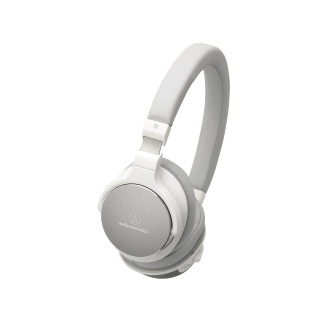 ATH-SR5BT Wireless On-Ear High-Resolution Audio Headphones (White)