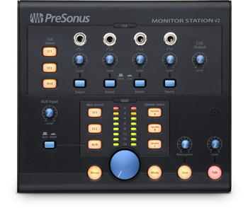 Monitor Station 2 Desktop Studio Control Center w/SPDIF input