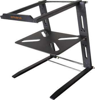 Roland Folding aluminum laptop stand w/ tray