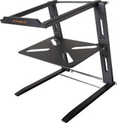 Roland Folding aluminum laptop stand w/ tray