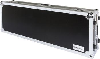 Roland 61-key keyboard case with wheels