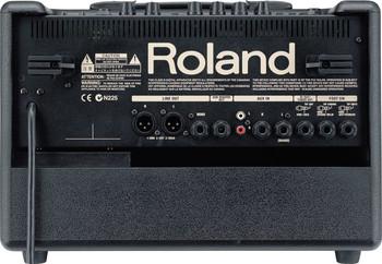 Roland Acoustic Chorus Guitar Amp, 60w (30w+30w), 2x6.5 in. (Rosewood)