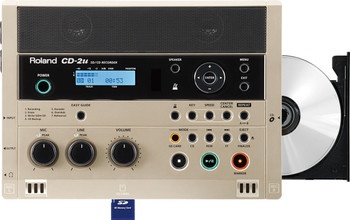 Roland SD/CD Recorder, CD Burner, Music and Language trainer