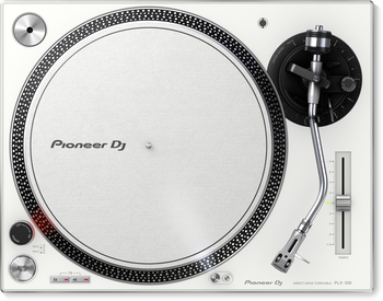 Pioneer PLX-500-W Direct Drive Turntable (White)