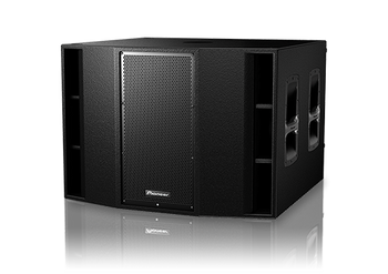 Pioneer XPRS215S Dual 15-inch Active Subwoofer (Wood Enclosure)